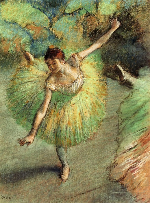 Танцовщица выгибается