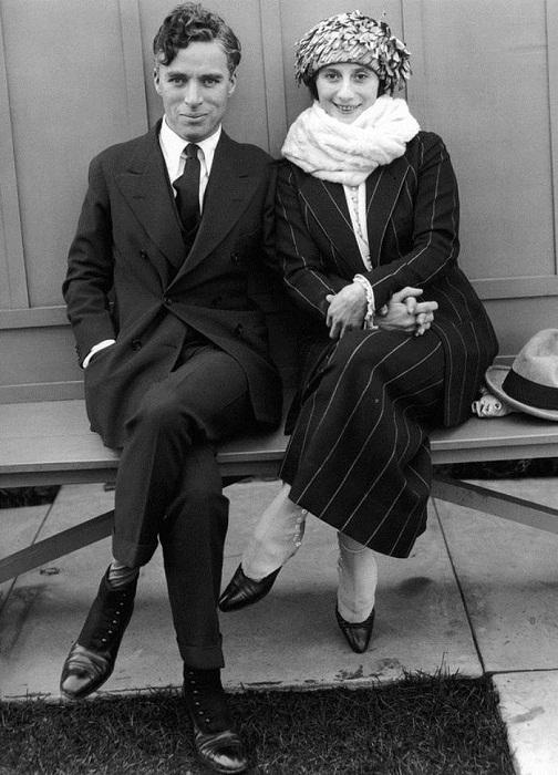Замечательная фотография Анны Павловой и Чарли Чаплина