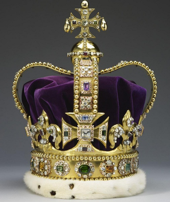Как сделать платиновую корону 386