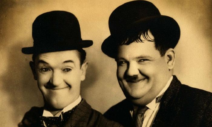 Два великих комика - Стэн Лорел и Оливер Харди