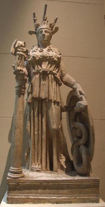Римская копия Афина Варвакион