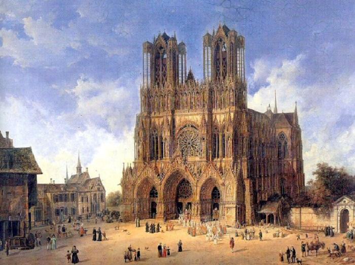 Реймский собор, место коронации французских королей