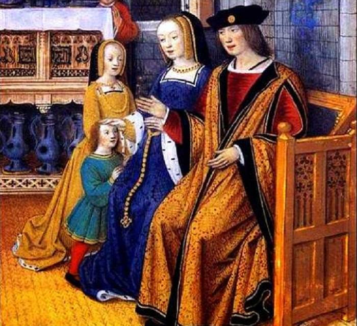 Анна и Людовик XII