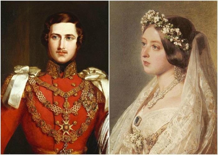 Принц Альберт + королева Виктория = любовь...
