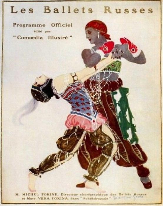 «Русские Балеты», Афиша