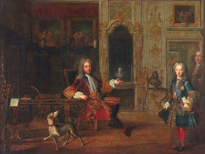 Герцог Орлеанский - регент при Людовике XV