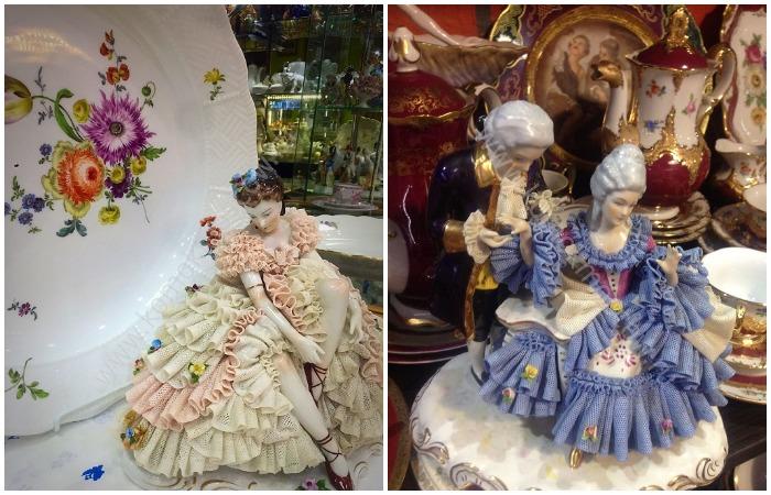 Дрезденские «кружевницы»: Легкость и изящество фарфорового кружева