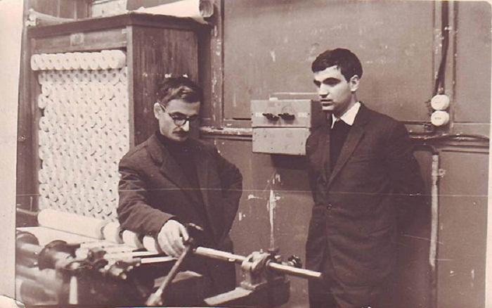 М. Хуциев и Г. Шпаликов