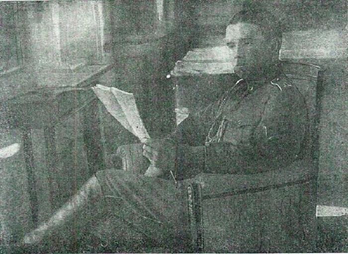Адъютант генерала Май-Маевского Павел Макаров