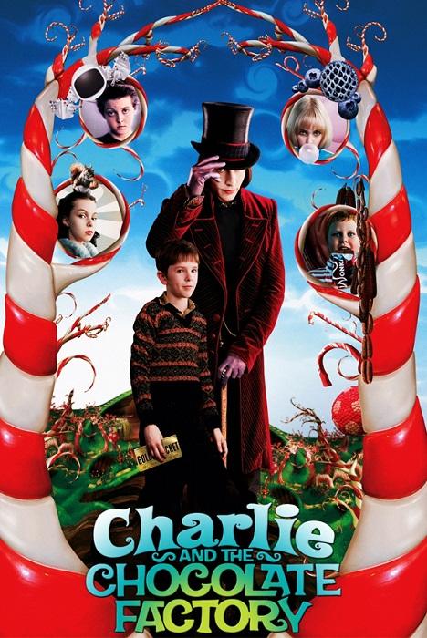 Чарли и шоколадная фабрика. Реклама фильма