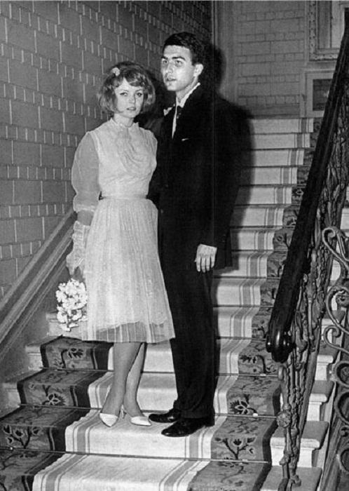 Нонна Терентьева со своим первым мужем Борисом Терентьевым