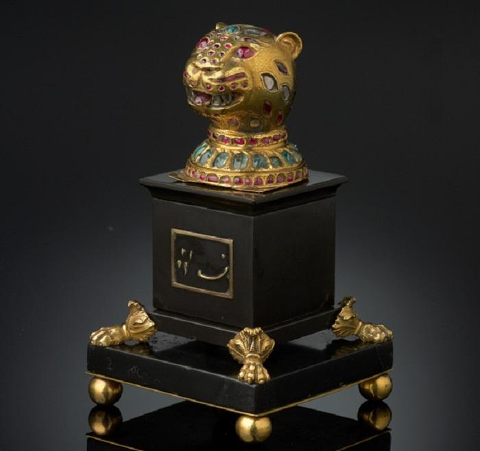 Драгоценное навершие для трона султана Типу, Южная Индия, Майсур, около 1787-1793