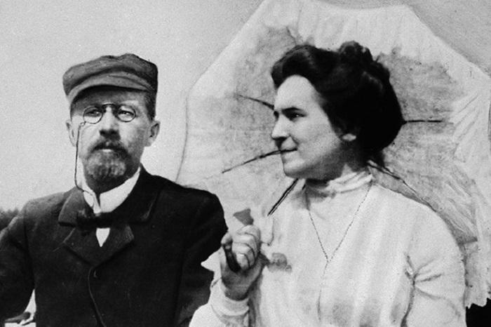 Ольга Книппер и Антон Павлович ЧеÑов