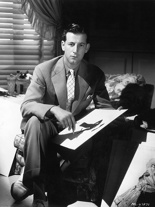 Легендарный Адриан, кутюрье и художник по костюмам студии Metro-Goldwyn-Mayer