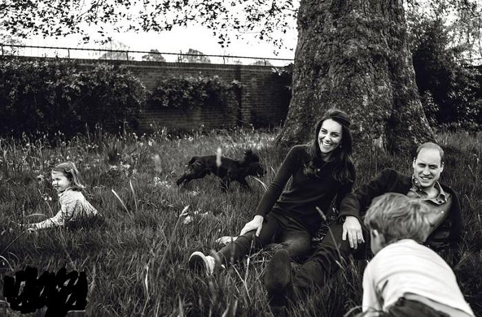 В саду Кенсингтонского дворца, фотограф Норман Джин Рой