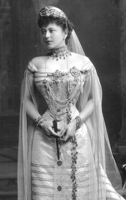 София Николаевна Меренберг, графиня де Торби (1868-1927) 1902 г.