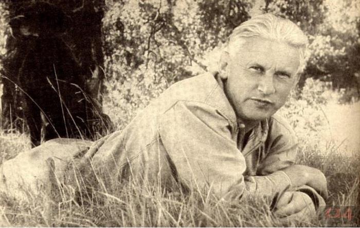 Александр Фадеев 1952 год