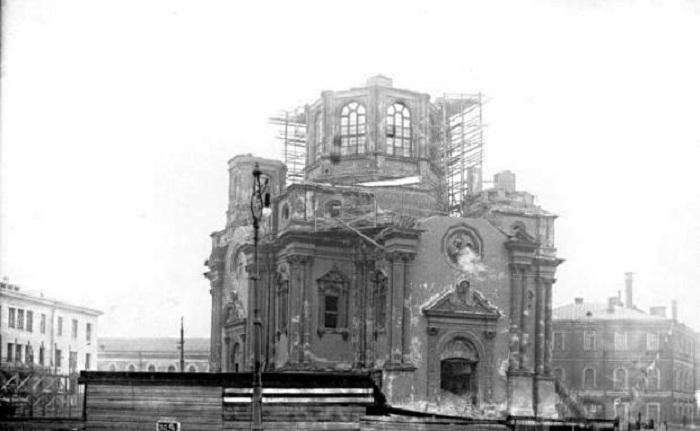 Разборка церкви 1929 г.