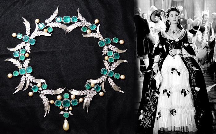 "Грета Гарбо в ожерелье от Джозефа.""Camille"" (1936 г.)"