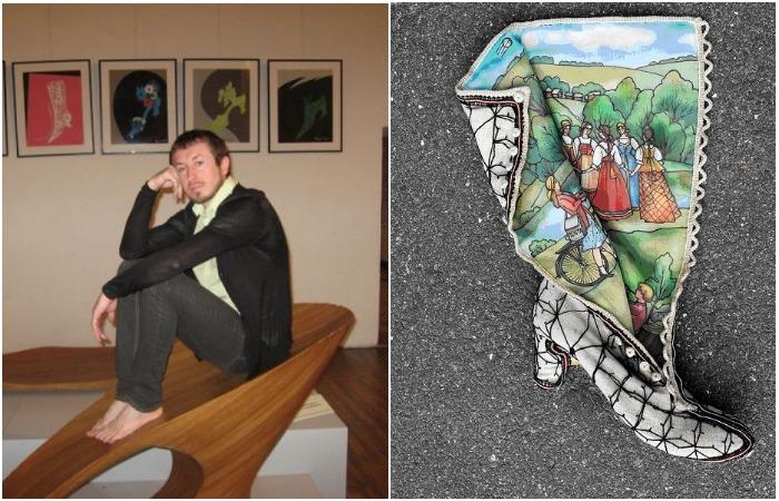 Обувные шедевры Рустама Адюкова, сравнимые с произведениями искусства