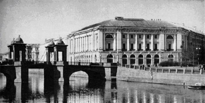 Здание уголовного розыска Российской империи