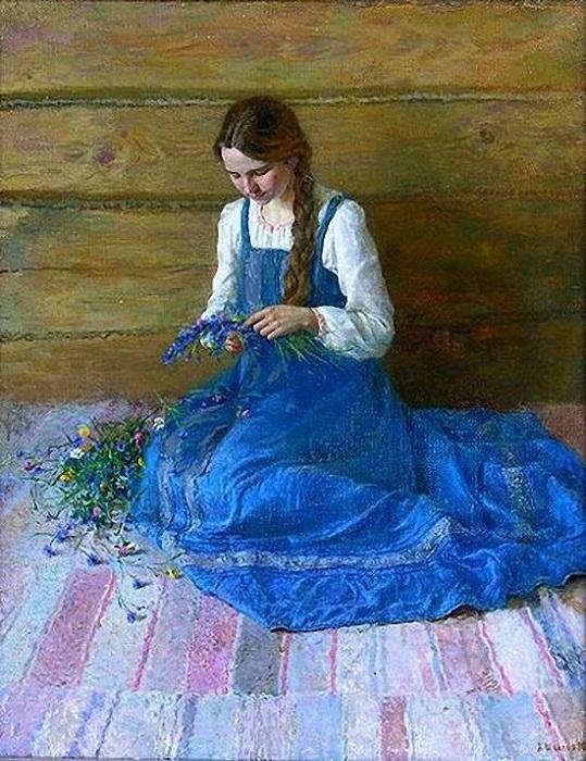 Алексей Шалаев. Портрет жены
