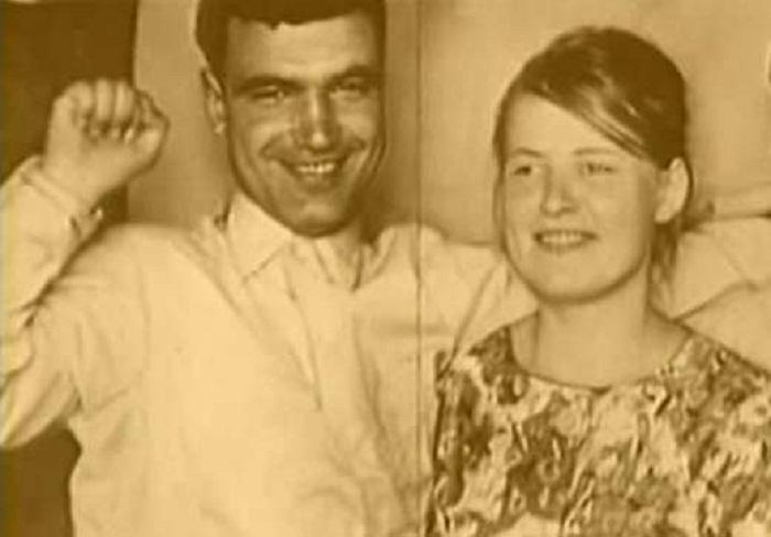Геннадий Шпаликов со своей первой женой Натальей Рязанцевой