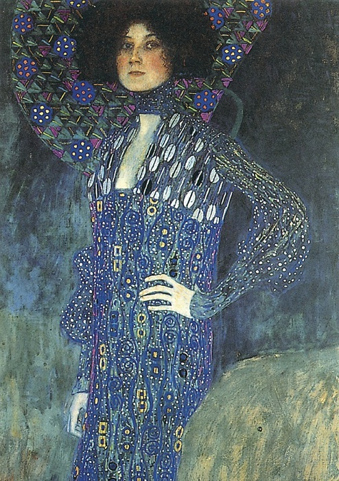 Портрет Эмили Флеге 1902