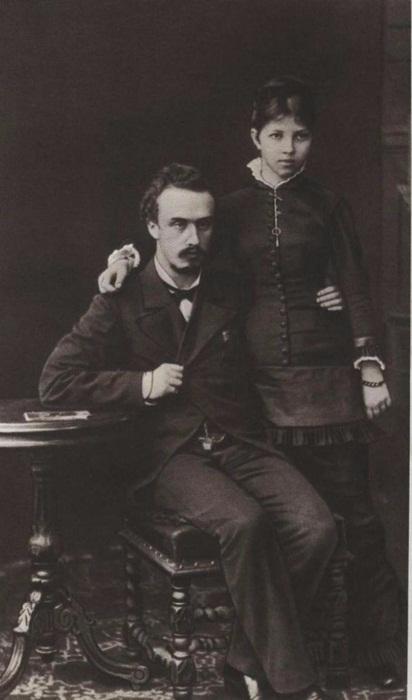 Александр и Александра Блок, родители поэта
