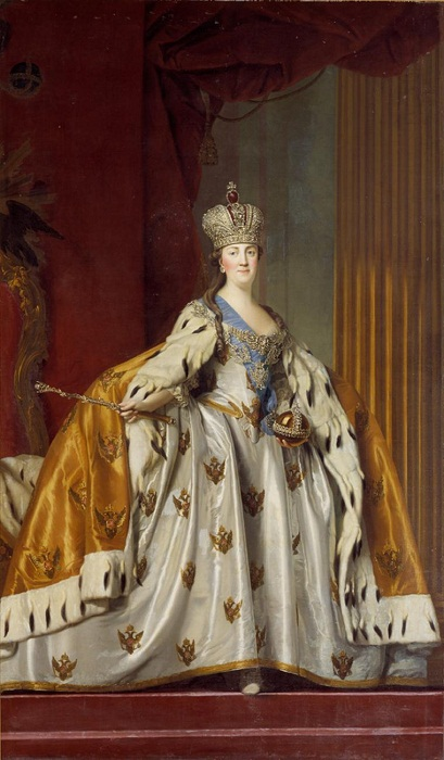 Коронационное платье Екатерины Великой