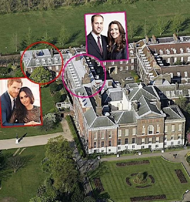 Апартаменты Кембриджских и Сассекских в Кенингстонском дворце