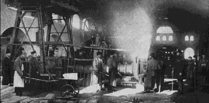 В цеху завода