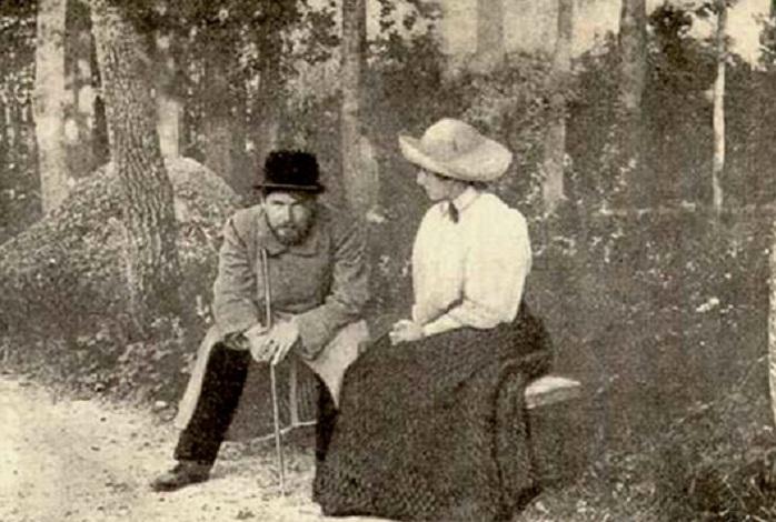 Антон ЧеÑов и Нина Корш