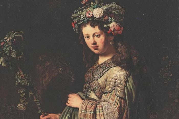Рембрандт, Флора, Эрмитаж, 1634