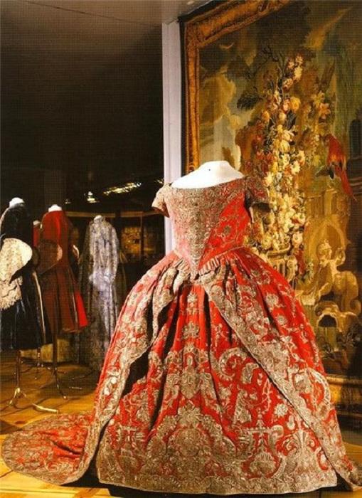 Коронационное платье Екатерины I