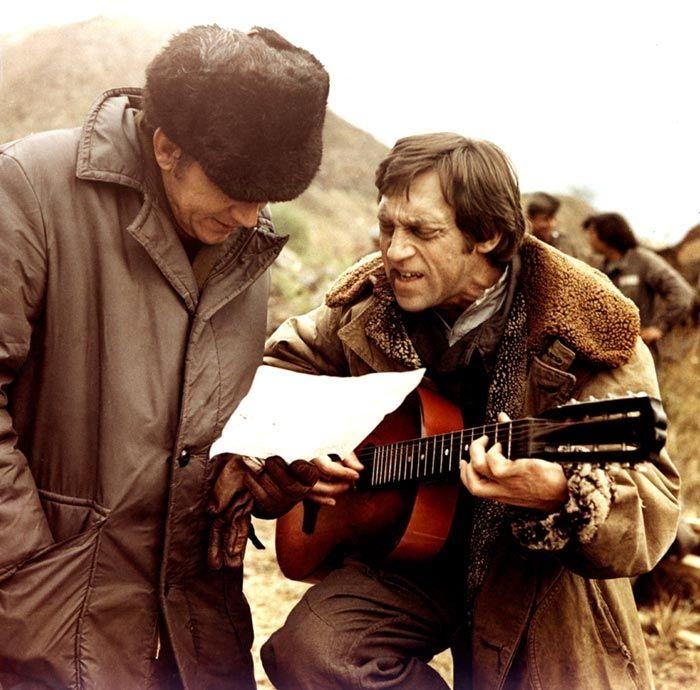 На съемках советско-югославского фильма «Единственная дорога»
