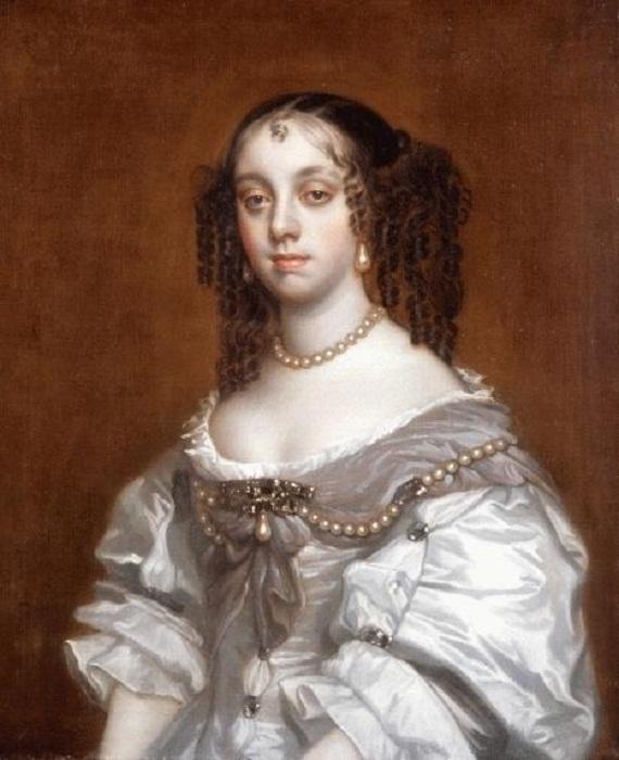 Портрет Екатерины Брагансской работы сэра Питера Лели, 1665 год