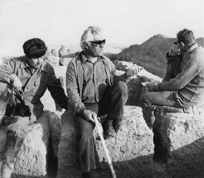 Советско-афганская археологическая экспедиция работала на протяжении 10 лет — с 1969 по 1979 год Фото: В.И.Сарианиди (из личного архива)