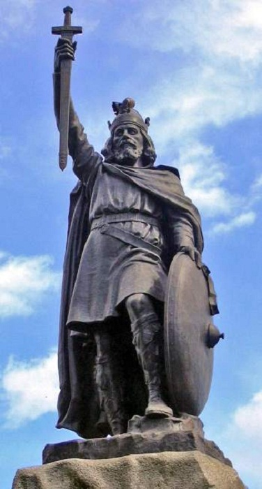 Памятник Альфреду Великому в Уинчестере