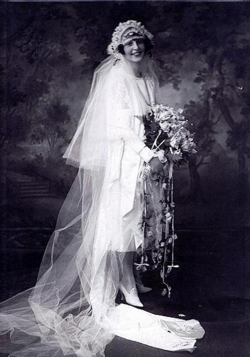 Невеста, 20-е годы XIX века