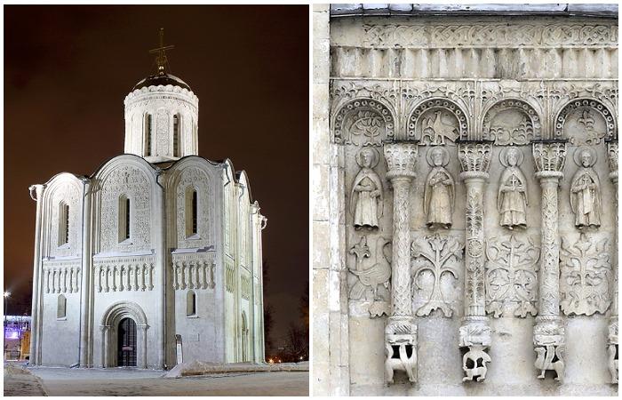 Дмитриевский собор во Владимире — сказочная поэма в камне