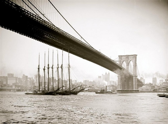 Построенный мост