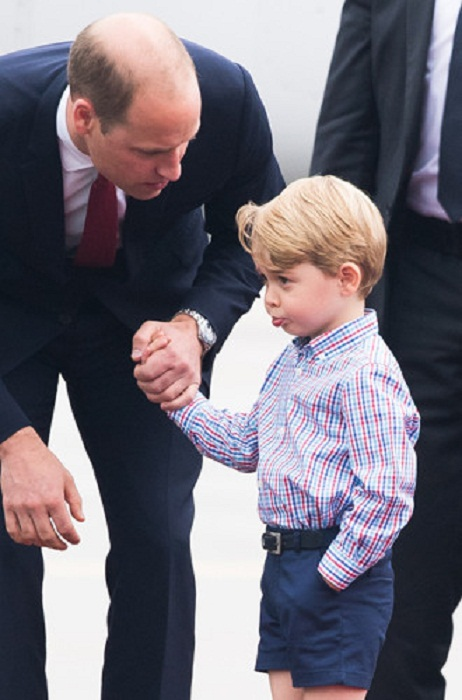 Принц Джордж в Польше, 17 июля 2017 года