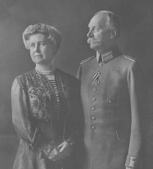 Великая Герцогиня Бадена Хильда Люксембургская и Великий герцог Бадена Фридрих II
