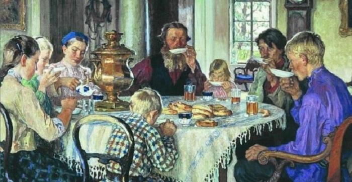 Николай Богданов-Бельский . Новые хозяева. (1913 г.)