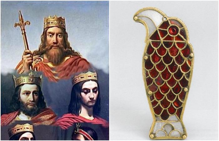 Ювелирные изделия эпохи Меровингов - одной из самых загадочных династий Европы