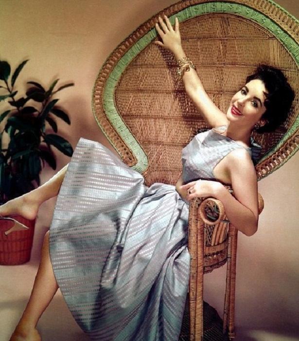 Элизабет Тейлор, англо-американская актриса, «королева Голливуда» , трижды удостоенная премии «Оскар»
