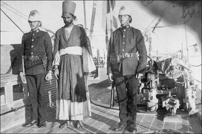 Арест араба-работорговца