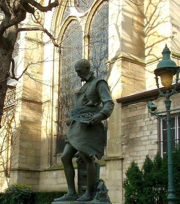 Памятник Бернару Палисси в Севре