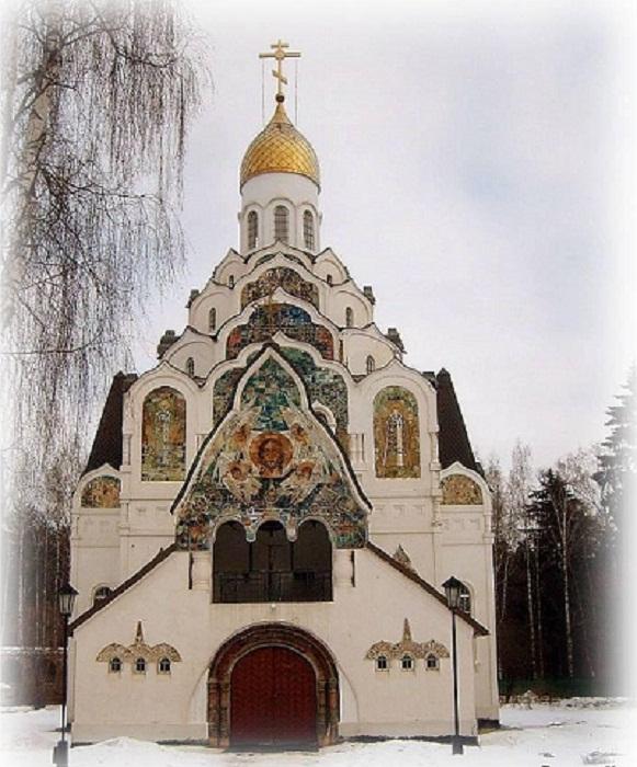 Клязьма. Церковь Спаса Нерукотворного Образа (1913-1916гг)